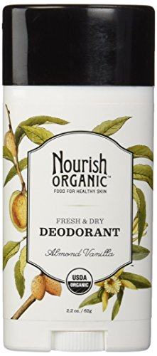 Nourish Organic Stick Deodorant, Almond Vanilla, 2.2 Ounce(Packaging may vary) (Vitamin Moisture Stick E Plus)