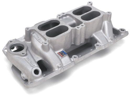 - Edelbrock 7525 Performer RPM Air Gap Dual Quad Intake Manifold