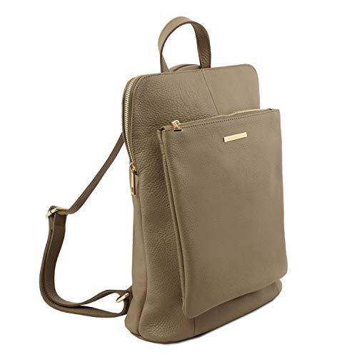 Taupe Bag Souple Foncé Sac Tuscany Cuir pour Dos à TL Rouge TL141682 Leather Femme en UqERwqgO