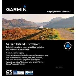 Garmin Northern Ireland Discoverer - Mapas de Irlanda del norte (escala 1:50 km) con rutas escénicas (escala 1:25 k) (importado)