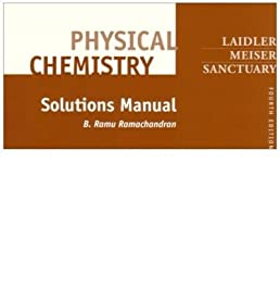 physical chemistry solutions manual by keith j laidler jun rh amazon co uk Calculus Student Solutions Manual PDF Math Solution Manual