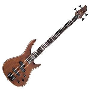 Stagg BC300-WS Standard E-Bassgitarre nussbaum