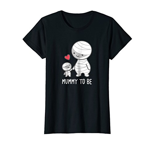 Womens Mummy To Be T-Shirt - Cute Funny Halloween Medium Black for $<!--$19.99-->
