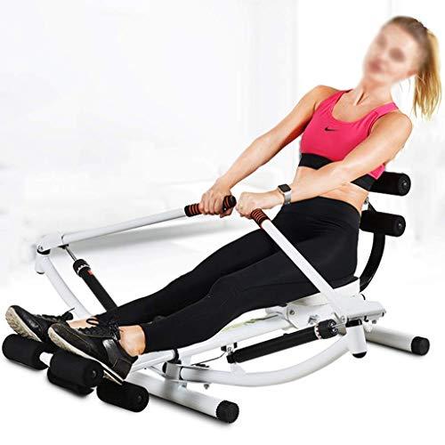 ZJZ Roeienmachine Multifunctionele Indoor Rowing Machine, Huishoudelijke Scull Folding Fitness Training Apparatuur…