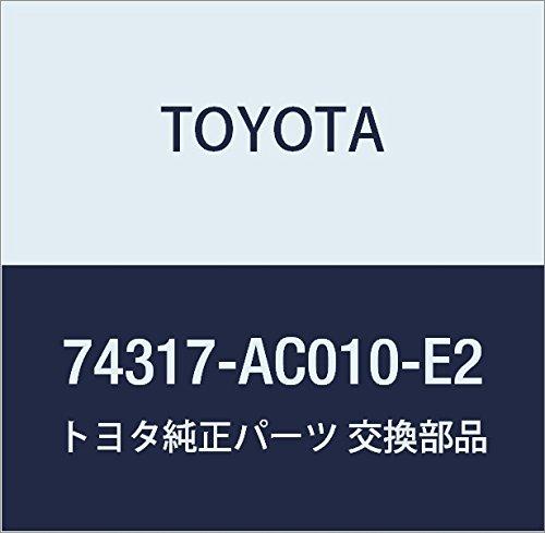 TOYOTA Genuine 74317-AC010-E2 Visor Bracket Cover