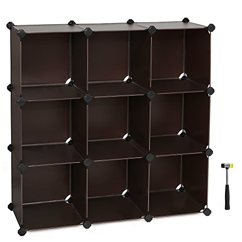 SONGMICS Modular Organizer Bookcase ULPC33Z