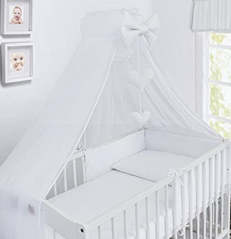 Ladder Pink LUXURY 10Pcs BABY BEDDING SET COT BED PILLOW DUVET COVER BUMPER CANOPY to Fit Cot Bed Size 140x70cm 100/% COTTON