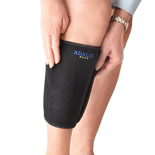 - Shin Support Brace Wrap with Ice Gel Pack for Hot and Cold Therapy: Great for Compression and Pain Relief on Splints, Calf Injuries, Forearm Soreness, etc. (Flexible, Reusable and Multi-Purpose)