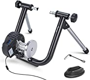 Smart Bike Trainer Sportneer Electromagnetic Bicycle Trainers Stand for Indoor Riding Cycling with Built-in Sp