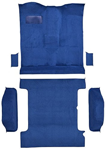 1978 to 1980 Chevrolet Blazer Carpet Custom Molded Replacement Kit, 4 WD Complete Kit (812-Royal Blue Plush Cut Pile) Blazer Molded Replacement Carpet