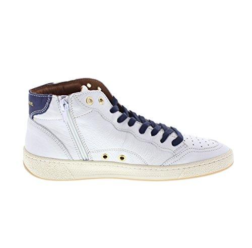 8SMURRAY02 Murray Bianco Blauer White Leather Uwcqp
