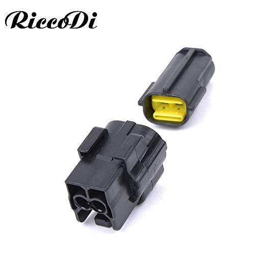 Ochoos 174352-2 174354-2 2 Pin Automotive Connector for Mazda RX7 FD Intake Air Temp (IAT) Sensor Connector Engine Room Position Plug - (Package: 20Sets): DIY & Tools