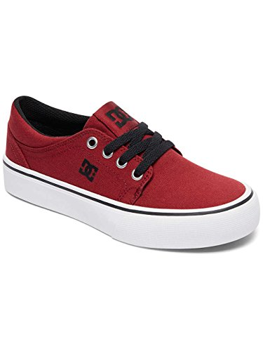 DC Shoes Trase TX - Zapatillas Bajas Para Niña Dark Red