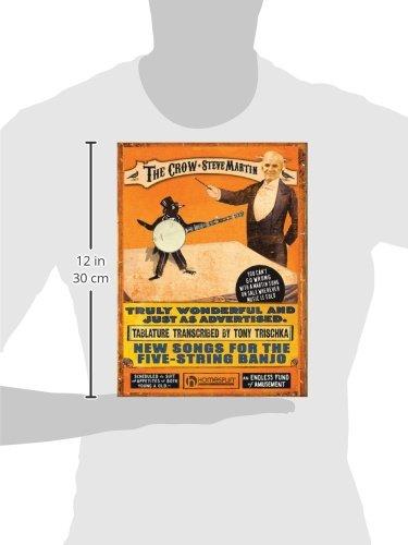 Amazon steve martin the crow new songs for the five string amazon steve martin the crow new songs for the five string banjo 0884088415792 steve martin tony trischka books mightylinksfo