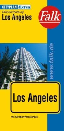 Falk Cityplan Extra Standardfaltung International Los Angeles mit Straßenverzeichnis