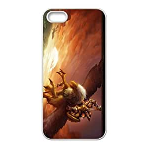 World of Warcraft iPhone 5 5s Cell Phone Case-White MSU7148968