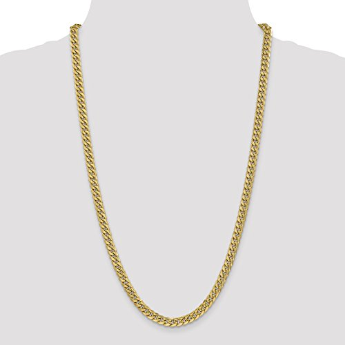 ICE CARATS 14k Yellow Gold 6mm Miami Cuban Bracelet Chain 8 Inch Fine Jewelry Gift Set For Women Heart by ICE CARATS (Image #3)