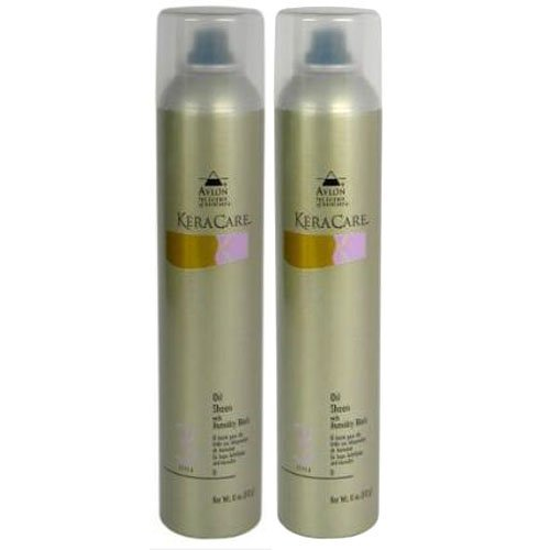 """Keracare Oil Sheen Spray with Humidity Block 10oz """"Pack of 2"""""""