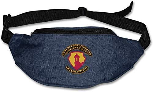 陸軍サポートCommandcamユニセックスアウトドアファニーパックベルトバッグスポーツウエストパック