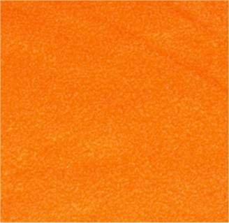 4 Yard Bolt Anti Pill Orange Fleece Polyester Fabric