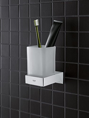 GROHE 40865000 Selection Cube Holder f.Glass/Dish/disp, Starlight Chrome by GROHE (Image #3)
