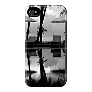 Quality Casecover88 Cases Covers With Palms Parasols Nice Appearance Compatible With Iphone 6plus