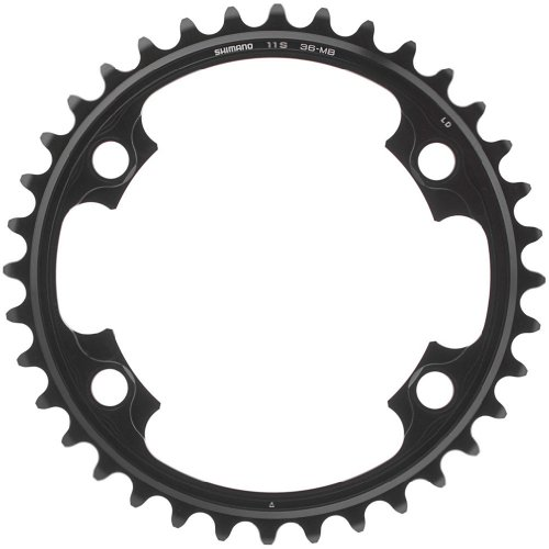 - Shimano Dura-Ace FC-9000 38t 110mm 11spd Chainring for 52/38t