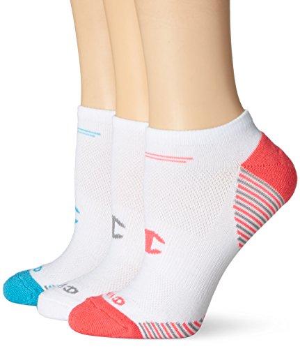 Champion Women's No-Show Training Socks, Assorted, 5-9 (Pack of 3)