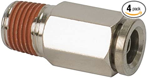 VIAIR 13868 x 1//4 NPT to 3//8 Airline Straight Fitting 4 Pack DOT Approved M