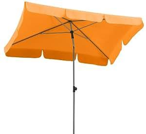 Parasol Schneider Locarno, mandarina, aprox. 180 x 120 cm, 4 piezas, rectangular