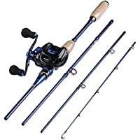 Sougayilang Fishing Baitcasting Combos, Lightweight...