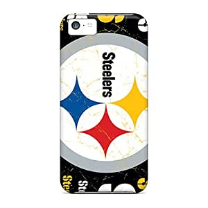 Ultra Slim Fit Hard Casecover88 Cases Covers Specially Made For Iphone 5c- Pittsburgh Steelers