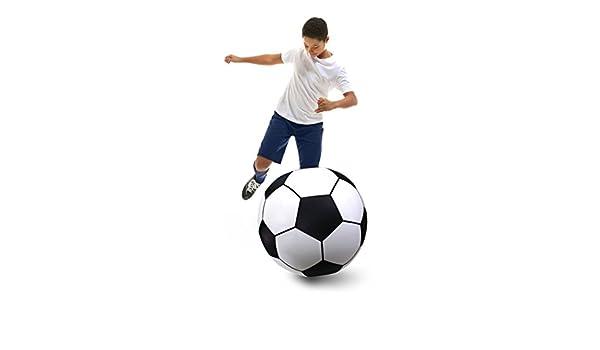 GoFloats Gigante Hinchable de balón de fútbol - de Vinilo Serie ...
