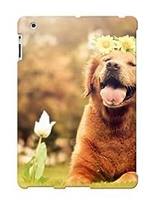 Hot Tpu Cover Case For Ipad/ 2/3/4 Case Cover Skin Design - Golden Retriever Puppy BY icecream design