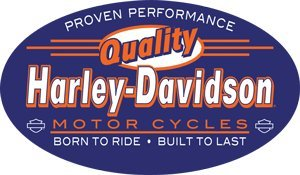 #2010861 Ande Rooney Harley Davidson Quality Oval Metal / Tin - Sign Oval Tin