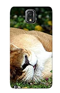 Durable Protector Case Cover With Animal Lion Hot Design For Galaxy Note 3 (ideal Gift For Lovers)