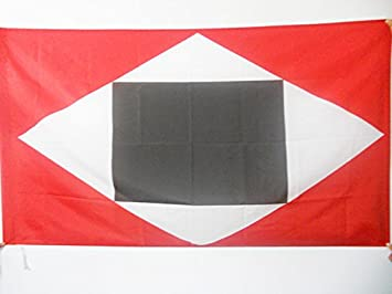 AZ FLAG Bandera de Venezuela Guerra A Muerte 90x60cm para Palo - Bandera Guerra DE Independencia