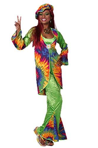 Th Mp Flower Power Hippie Kostum 2 Teilig Grosse 36 S 60er 70er