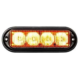 Seco-Larm Enforcer High-Intensity LED Strobe Light, 12VDC, Amber (SL-1311-MA/A)