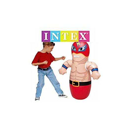 Intex 3D Bop Bag Blow Up Inflatable Wrestler ()