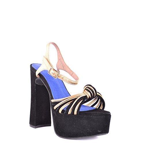 Mujer Kawasaki de Cuñas Zapatos Negro 44qpwF0