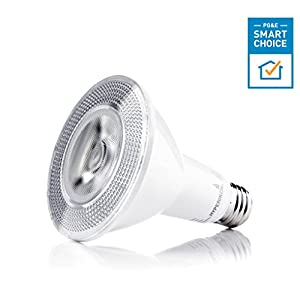 Hyperikon PAR30 LED Dimmable Bulb 75W Equivalent (12W) Flood Light Bulb, Soft White 3000K, CRI 90+ - Kitchen, Bedroom, Recessed Lighting (6 Pack)