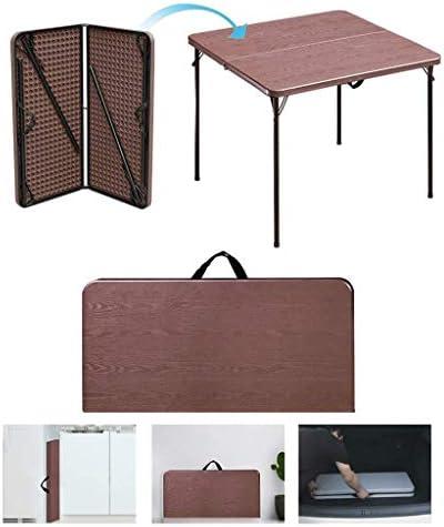 Portable Mahjong-tafel, opvouwbare Mahjong-tafel, eettafel, geschikt voor het spelen van kaartspellen/bordspellen/studeren/picknicken, gratis installatie, gemakkeli