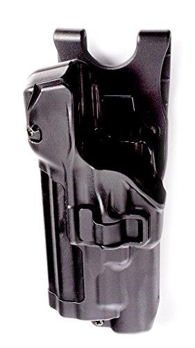 BLACKHAWK! 44H525PL-L Serpa Level 3 Xiphos Duty Plain S&W M&P Sig Pistol with/Without Thumb Safety