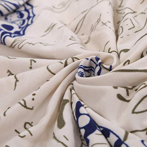 Kess InHouse Sylvia Cook Beaches /& Bonfires 18 by 18 Mint Green Typography Throw Pillow