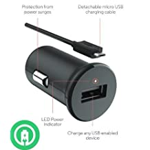 Turbo Fast Powered 15W Wacom Intuos Creative Stylus 2 Pen Car Charger with Detachable Hi-Power MicroUSB Cable!
