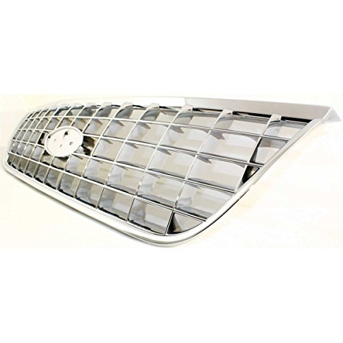 New Grille Assembly Grill Chrome Ford Explorer 2005 2004 2003 2002 - Diften 102-A1347-X01