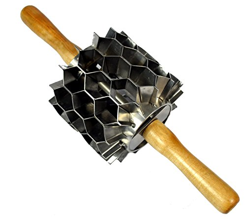 Stainless Steel Hex Cutter, 42 Cuts, Donut Holes, Biscuits, Crackers, Etc. by OCSParts