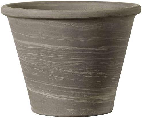 植木鉢 イタリア製 デュオグラファイトバッサム (21cm) 陶器製 デローマ社 素焼き鉢 園芸 ガーデニング *Italian Terracotta*deroma 陶器鉢 プランター