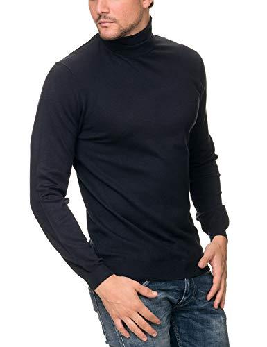 f81d77868e3e SORBINO UOMO Men s Dolcevita Pullover Blue in Size Medium